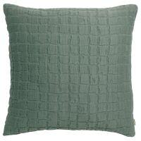 Kissen SWAMI Stonewashed Thymian grün 45x45 cm