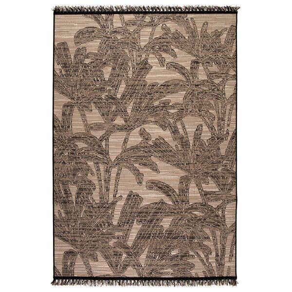 Teppich FIONA Naturel/schwarz 160 X 230