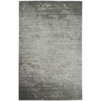 Flachgewebter Teppich CAMAIEU Silbergrau 155x230 cm