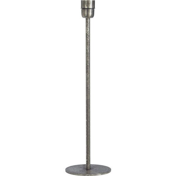 Lampenfuß Metall Antiksilber 45cm