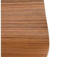 Barstuhl COBE ZEBRANO 103cm Holz