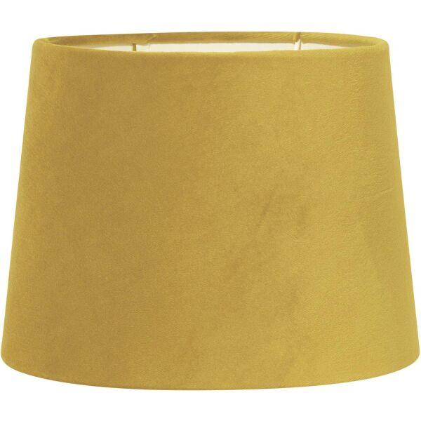 Lampenschirm SOFIA Velours Gold Ø20cm