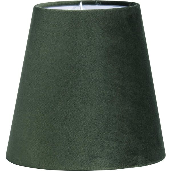 Lampenschirm CIA Velours Tannengrün Ø20 cm