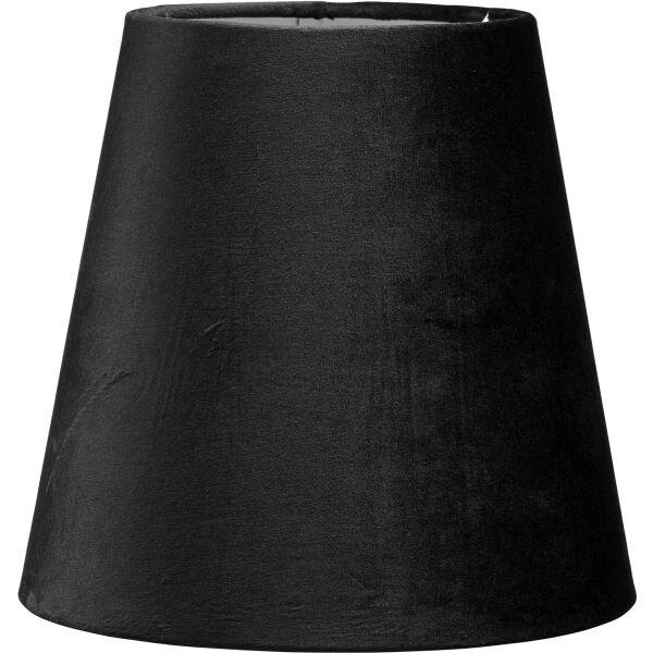 Lampenschirm CIA Velours Schwarz Ø20 cm