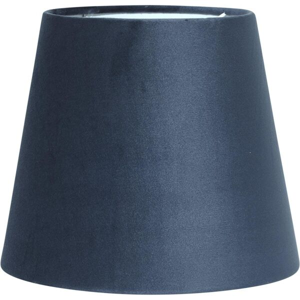 Lampenschirm CIA Velours blau Ø20 cm