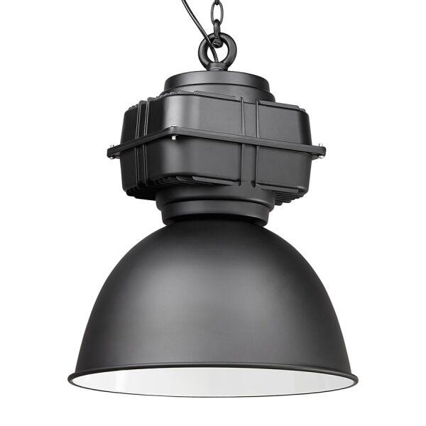 Industrielampe TEOL schwarz-innen weiss