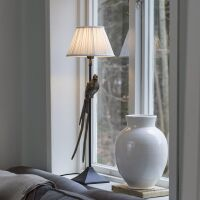 Lampenschirm STELLA Plissé weiß Ø25 cm