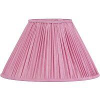 Lampenschirm STELLA Plissé rosa Ø25 cm