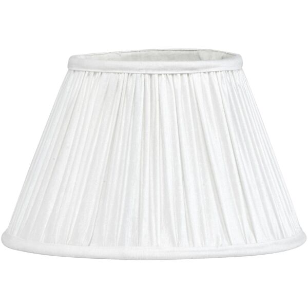 Lampenschirm STELLA Plissé weiß Ø30 cm