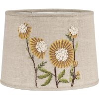 Lampenschirm SOFIA Sunflower bestickt