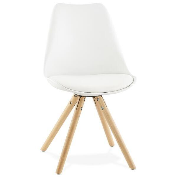 Stuhl TOLIK weiss Skandinavischer Stil