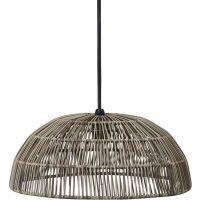 Outdoorlampe HUE Polyrattan grey Ø45cm