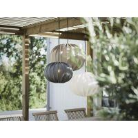 Outdoorlampe HILMA Ø40cm weiß