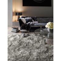 Hochflorteppich Bright Grau