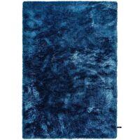 Hochflorteppich Whisper Blau