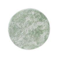 Hochflorteppich rund Lea Grün