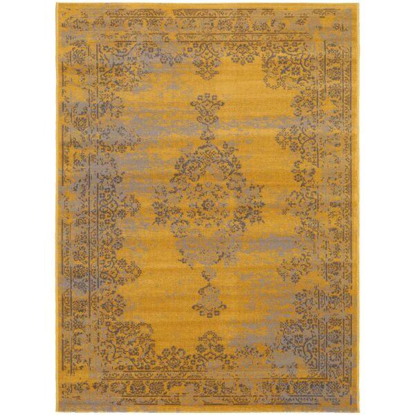 In- & Outdoor-Teppich Antique Gelb