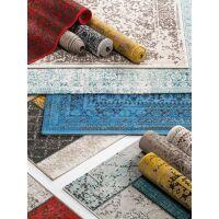 In- & Outdoor-Teppich Antique Beige/Blau