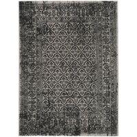 In- & Outdoor-Teppich Antique Schwarz/Weiß