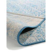 In- & Outdoor-Teppich Antique Blau
