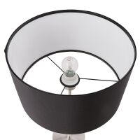 Moderne Tischlampe TIGUA schwarz höhenverstellbar