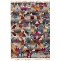 Teppich Simsala Multicolor/Anthrazit
