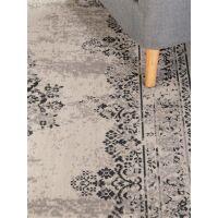 In- & Outdoor-Teppich Antique Schwarz/Grau
