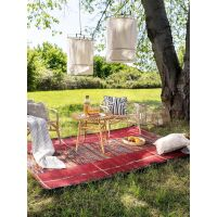 In- & Outdoor-Teppich Artis Multicolor/Rot