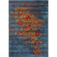In- & Outdoor-Teppich Artis Multicolor/Blau