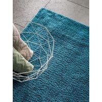 Badematte Loops Blau