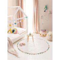 Waschbarer Kinderteppich Tilda Cream