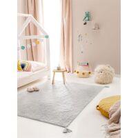 Waschbarer Kinderteppich Tilda Blau