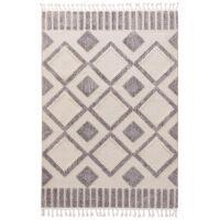 Teppich Oyo Cream/Grau