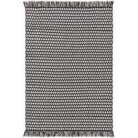 In- & Outdoor-Teppich Morty Schwarz/Weiß