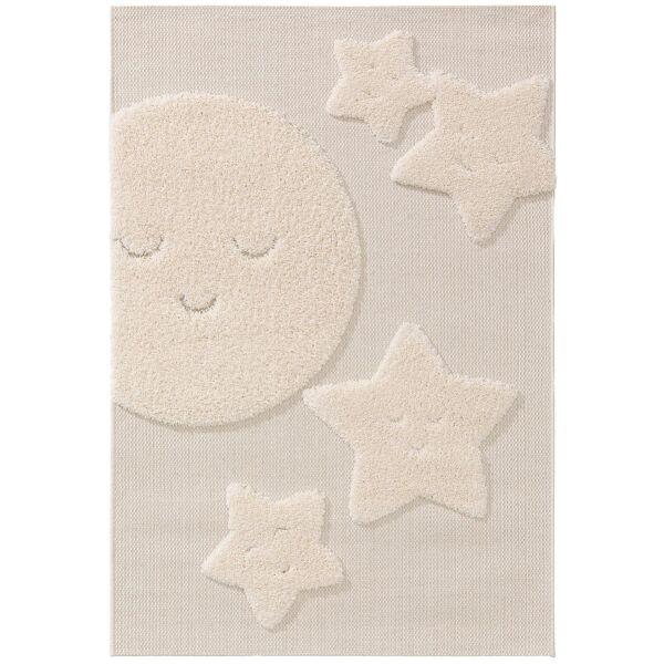 Kinderteppich Carlo Cream