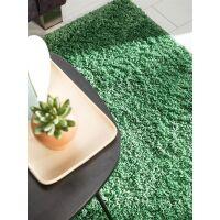 Hochflorteppich Soho Grün