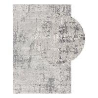 Waschbarer Baumwollteppich Cooper Grau