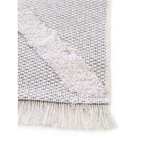 Waschbarer Baumwollteppich Oslo Cream/Grau