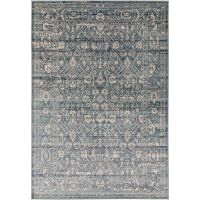 Teppich Vintage Velvet Blau