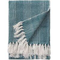 Baumwolldecke Alisea Blau 125x150 cm