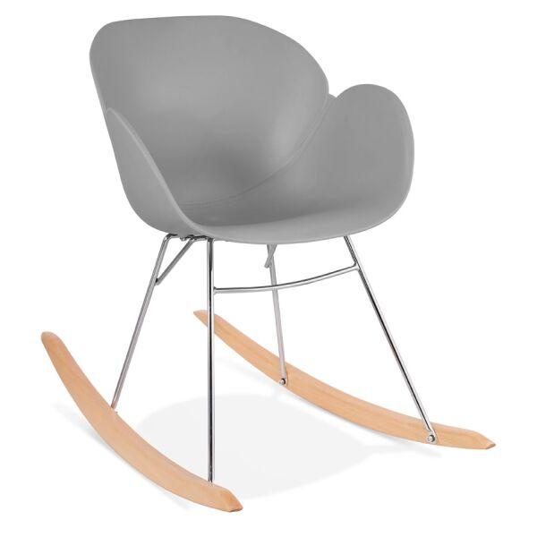 Design-Schaukelstuhl KNEBEL Kunststoff
