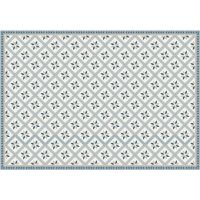 Vinyl Teppich MATTEO Fliesen 1 blau 140 x 200 cm