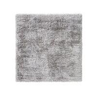 Hochflorteppich Lea Grau 200x200 cm
