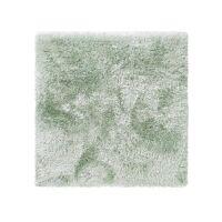 Hochflorteppich Lea Grün 200x200 cm