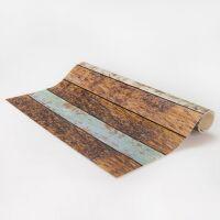 Vinyl Teppich MATTEO Fliesen 2 braun