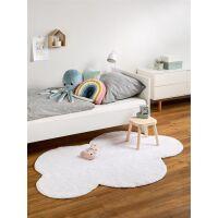 Waschbarer Kinderteppich Bambini Weiß 120x160 cm