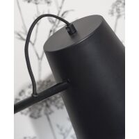 Wandlampe Brisbane Metall schwarz