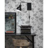 Wandlampe Nottingham schwarz