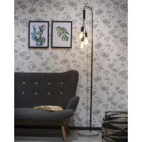 Stehlampe Oslo schwarz