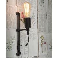 Wandlampe Seattle schwarz